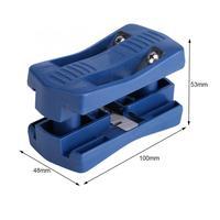 Aplicadora de bandas recortadora de bordes de madera cola Manual de doble filo carpintería recorte herramienta de carpintero Hardware de alta calidad
