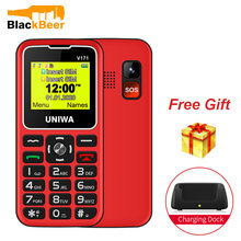 "Uniwa v171 v808g мобильный телефон 2g gsm1400mah 231 ""экран"
