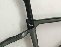New carbon road frame super high quality men and women universal frameset with handlebar multiple colors available