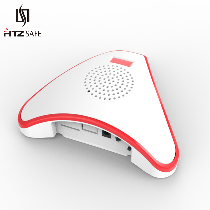 HTZSAFE Extra Wireless Receiver - Expandable Up To 32 Sensors - 35 Optional Tones - 4 Adjustable Volume Levels