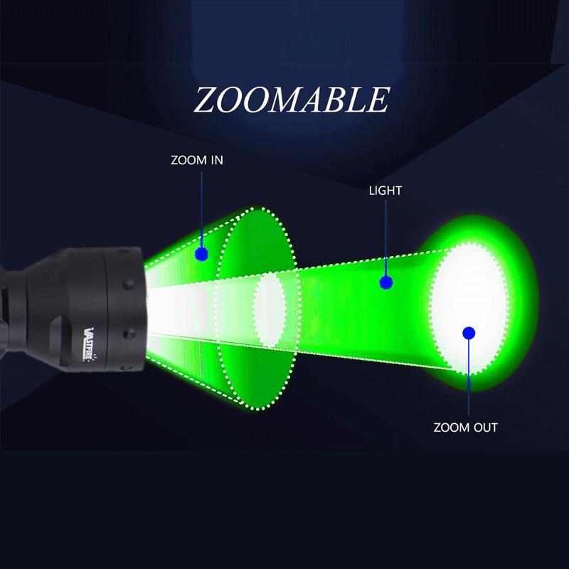 T50 tactical scout luz zoomable rifle caça