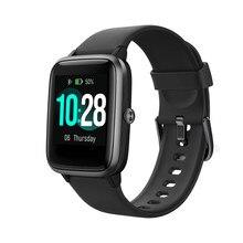 ID205L גברים נשים ספורט חכם שעון דופק ניטור לחץ דם עמיד למים Smartwatch מלא מגע מסך