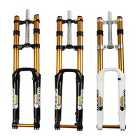 ZOOM 680DH 170mm Travel 20mm Axle 26 Downhill Mountain Bike Forks Magnesium Leg Cycle Parts MTB Bicycle Suspension Fork