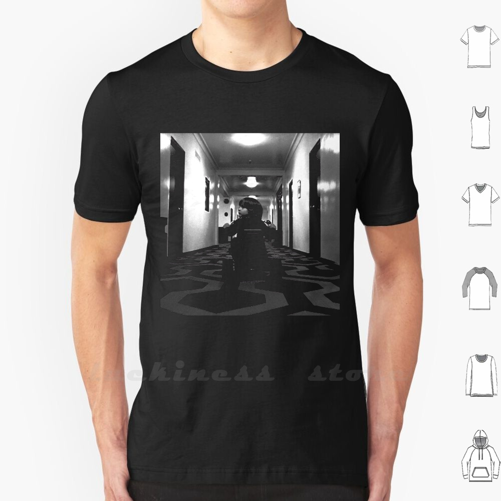 The Shining T Shirt Big Size The Shining Stanley <font><b>Kubrick</b></font> Horror Jack Nicholson Jack Torrance Stephen King Overlook Hotel Room image