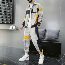 Jaket dengan Track Olahraga