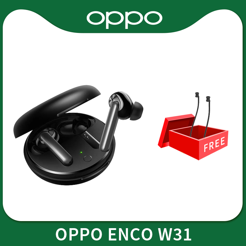 OPPO Enco W31 TWS наушник Bluetooth 5.0 Low Latency Правда беспроводные наушники 25mAh IPX4 Для Find X2 X2 Pro ACE 2