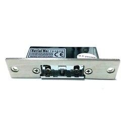 Tidak Ada NC Kunci Yang Dapat Disesuaikan-Lidah Aman Electric Strike Kunci Pintu Gagal Mengamankan Gagal Aman 12V Sempit Tipe sistem Akses Kontrol