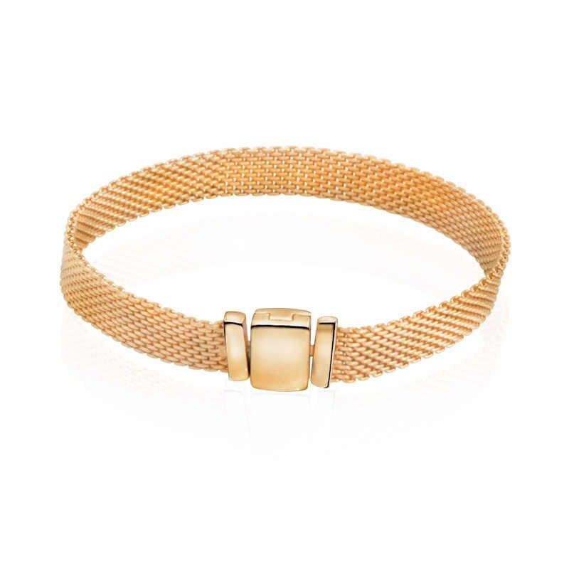 2019 mode 100% 925 Sterling Silber Perle Reflexion Funkelnden Eiszapfen Clips Charms fit Armbänder Frauen Mode schmuck Luxus