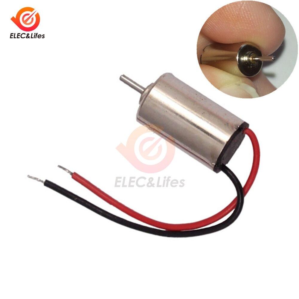 2PCS 4x11mm DC Vibrating Motor 1.5~3V Micro Coreless Vibrator Vibration RC Motor