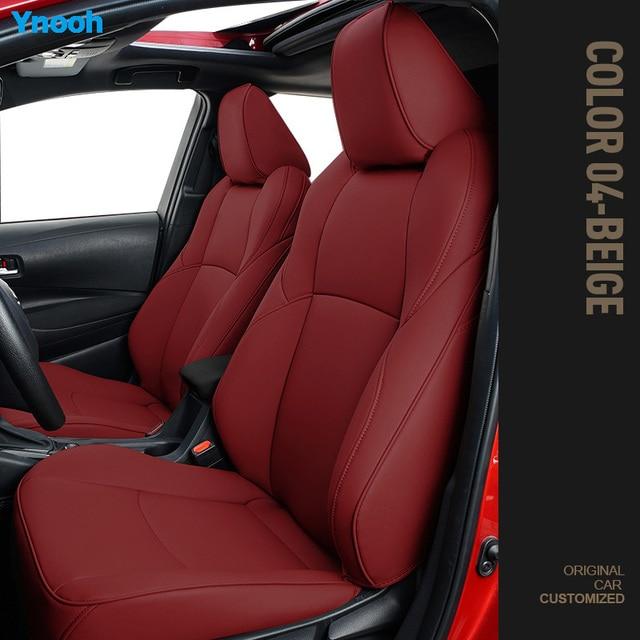 Ynooh Car seat covers For toyota prado 120 camry 40 land cruiser 100 fortuner rav4 2018 corolla 2005 aygo alphard car protector