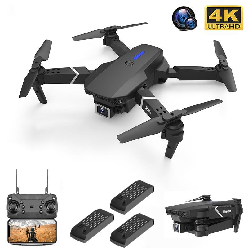 2021 Новый Дрон 4k Профессиональная HD широкоугольная камера 1080P WiFi fpv Дрон двойная камера высота поддерживаемая камера для дрона Камера вертол...