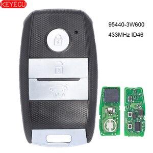 Image 1 - KEYECU חכם מרחוק מפתח Fob 3 כפתור 433MHz ID46 שבב לקאיה K5 Sportsge 2013 2014 2015 2016 FCCID: 95440 3W600