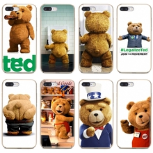 Soft TPU Case Ted Bear Movie Ted Kiss MY Butt Ass For iPhone iPod Touch 11 12 Pro 4 4S 5 5S SE 5C 6 6S 7 8 X XR XS Plus Max 2020