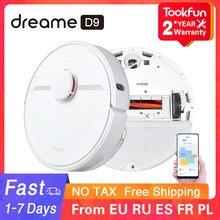 Dreame – Robot aspirateur D9 pour la maison, balayage, lavage et vadrouille, aspiration de poussière type cyclone, 2021 PA, planification intelligente via appli MIJIA et WIFI, 3000