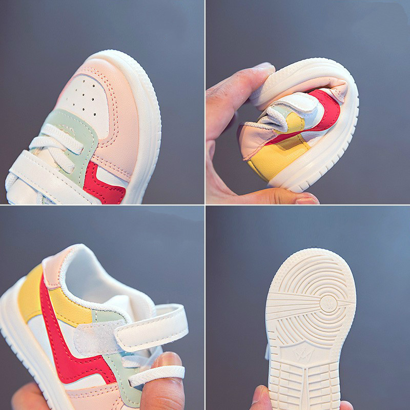 Baby Shoes Toddler Girls Boys Sports Shoes For Children Girls Baby Leather Flats Kids Sneakers Fashion Casual Infant Soft Shoes 6