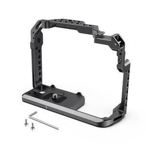 Image 3 - SmallRig для Panasonic Lumix GH5 /GH5S клетка для камеры с резьбой 1/4 3/8 отверстия + крепление для холодной обуви Набор рельсов NATO 2646