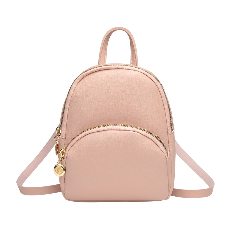 Mini Backpack Women PULeather Shoulder Bag For Teenage Girls Kids Multi-Function Small Bagpack Female Ladies School Bag