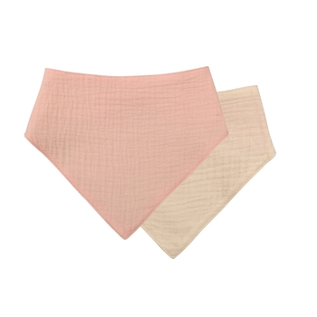 1 Pc Baby Bibs Cotton Accessories Newborn Solid Color Snap Button Soft Triangle Towel Feeding Drool Bibs - S007