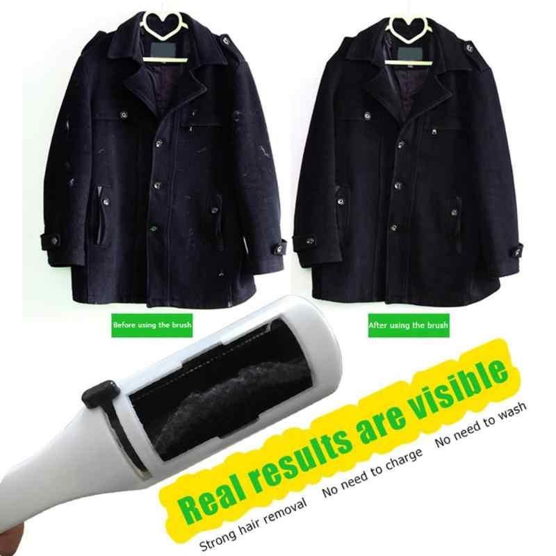 Lint Remover เสื้อผ้าไฟฟ้าสถิต STATIC ฝุ่นสัตว์เลี้ยงผม Remover แปรงกวาดเครื่องใช้ในครัวเรือนทำความสะอาดแปรง