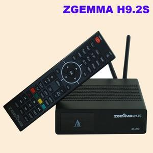 Image 4 - Yeni sürüm ZGEMMA H9.2S Linux OS Enigma2 dijital 4K UHD DVB S2 alıcısı 2000 DMIP e n e n e n e n e n e n e n e n e n e tuner uydu TV alıcı dekoder