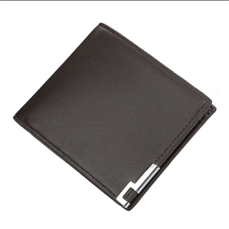 2 Style Ultra-thin Short Wallets For Man