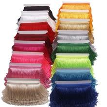 10 ярдов 15 см с длинной бахромой отделка кружевная лента кисточки для штор платья бахрома для шитья отделка Аксессуары для рукоделия