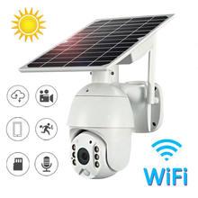 Zoncent hd 1080p wifi версия солнечная панель камера беспроводной