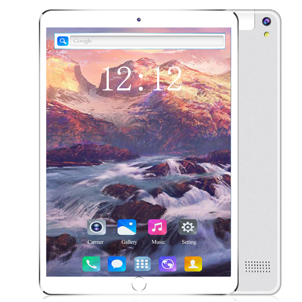 2020 4G LET Tablet PC 10.1 Inch Android 8.0 Octa Core 6GB+128GB Tempered Screen IPS Dual SIM Card Phone Call Tablets Pcs 10