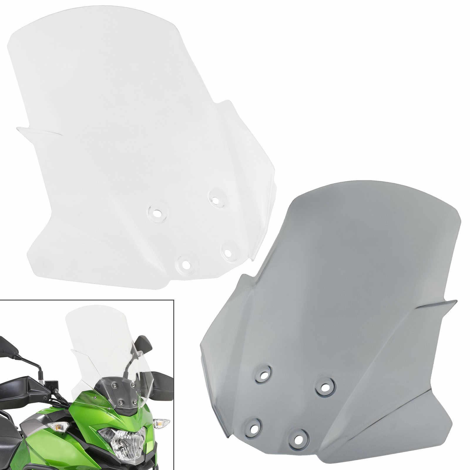 Phare Avant Écran Lentille Housse de protection garde pour Kawasaki Versys-X300 2017-2018