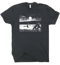 Bigfoot T Hemd Loch Ness Monster Ufo Seltsame Lustige Kühlen Cryptozoology Männer Frauen