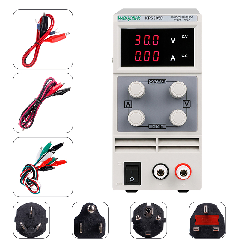 Switching power <font><b>supply</b></font> power control 220 <font><b>v</b></font> 110V lab power <font><b>supply</b></font> <font><b>dc</b></font> adjustable source 5a <font><b>30</b></font> <font><b>v</b></font> voltage and current regulator image