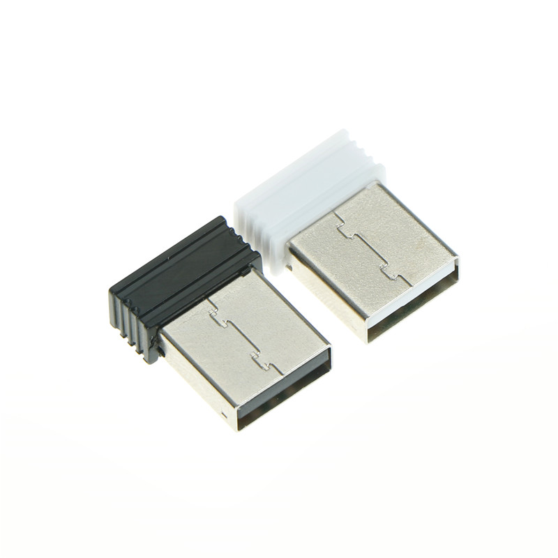 1pc Laptop USB Receiver 2.4G Wireless Mouse Adapter 2x1.4cm