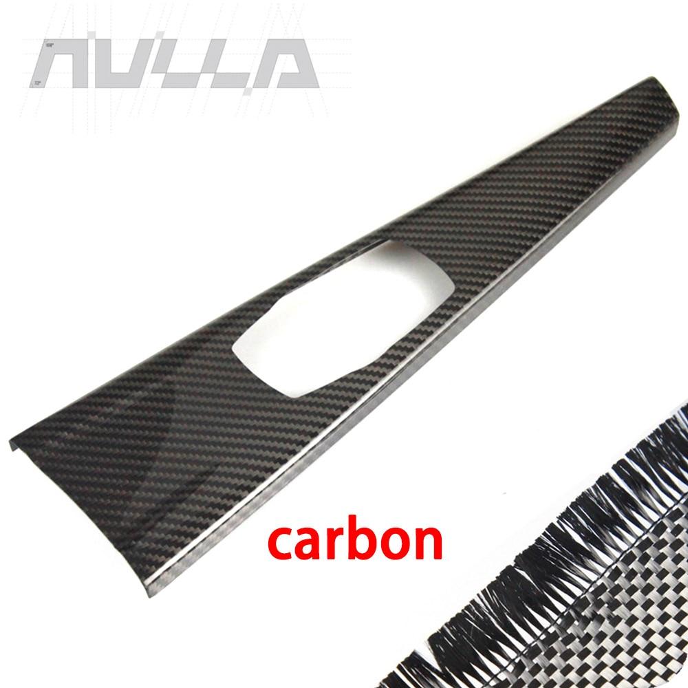 DIYUCAR Cadre de levier de vitesse en fibre de carbone ABS pour F20 F30 F32 F33 F34 F36 1 3 4 Series