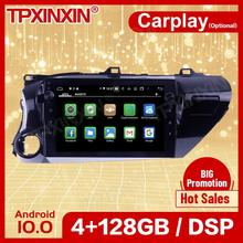 Récepteur Carplay sans fil pour Toyota Hilux 2016 2017 2018, Android, 2 Din, stéréo, écran de lecteur d'unité principale, enregistreur Audio