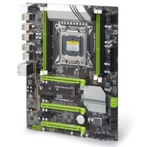 Image 4 - atermiter X79 Turbo motherboard LGA2011 ATX combos E5 2690 CPU 4pcs x 8GB = 32GB DDR3 RAM 1600Mhz PC3 12800R  PCI E NVME M.2 SSD