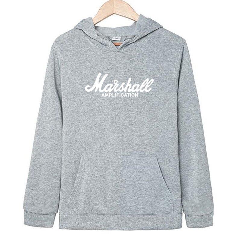MARSHALL LOGO Sweatshirt Men Kapuzenpullover Shirt Rock