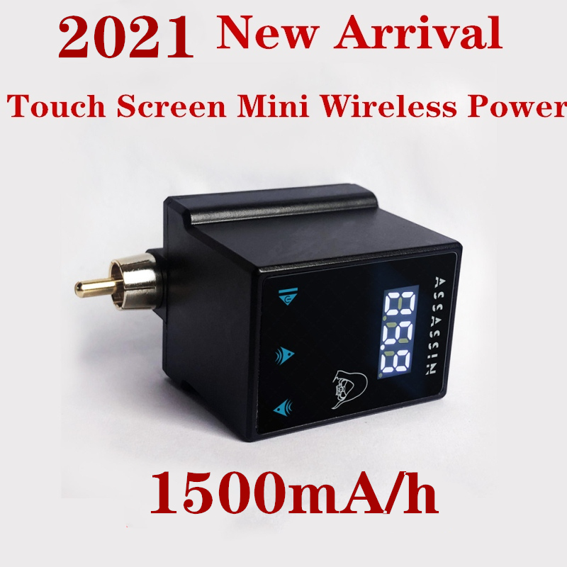 2021 новейший сенсорный мини-экран беспроводной мощность татуировки мА/ч для тату-машинки ручка с зарядным кабелем Type-C Бесплатная доставка