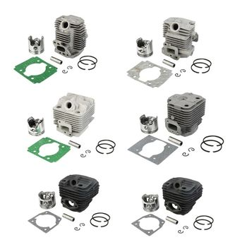 цена на 1 Set Chainsaw Cylinder Piston Kit Hedge Trimmer Pesticide Sprayer Engine Motor Parts for Chinese 5200 5800 TU26
