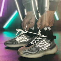 New Reflective yeezys shoes mens shoes High quality Running shoes men sneakers comfortable Sports shoes men shoes sneakers women