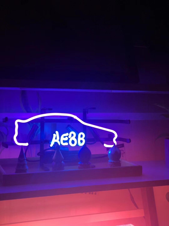 Luz de neón de moda letrero de neón Decoración LED luz de noche nuevo coche boda amor Bar Pub lámpara de arte 11 x 7