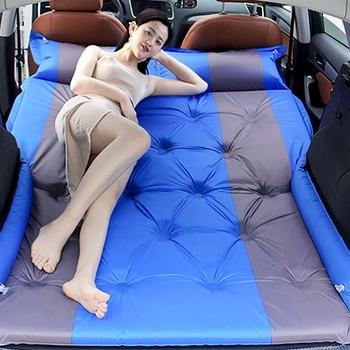 Wielofunkcyjny automatyczny nadmuchiwany materac samochodowy SUV MPV specjalny materac powietrzny łóżko w kształcie samochodu dorosłe materace do spania łóżko samochodowe tanie i dobre opinie CN (pochodzenie)