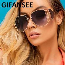 Солнечные очки gifansee в стиле панк для мужчин и женщин винтажные