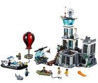New 815pcs Prison Island The Police Legoinglys City Series Prison Island Set Building Blocks Bricks Educational Funny 60130 Toys
