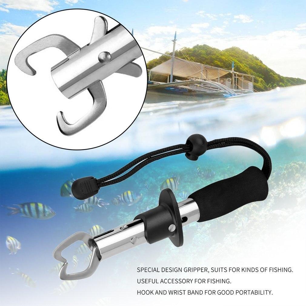 1Pc New Fish Grip Lip Trigger Lock Gripper Clip Clamp Grabber Fish Plier Grab Fishing Tackle Box Accessory Tool  Pesca