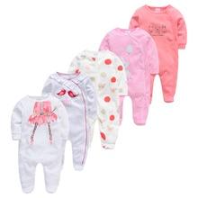 Baby Pyjamas Newborn Sleepers Bebe Girl Boy Cotton 5pcs Fille Soft Breathable