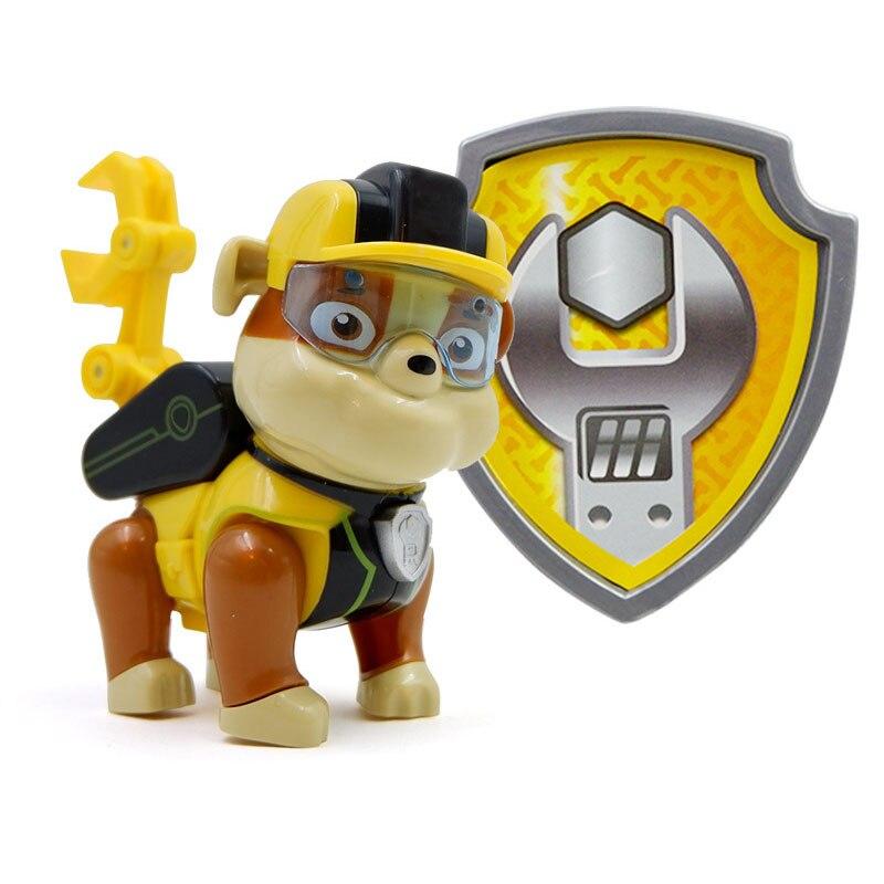 Paw Patrol, набор игрушек, собака Patrulha Canina, аниме, фигурка автомобиля, фигурки, украшения, игрушки для детей, подарки на день рождения 2D32 - Цвет: 14 no box