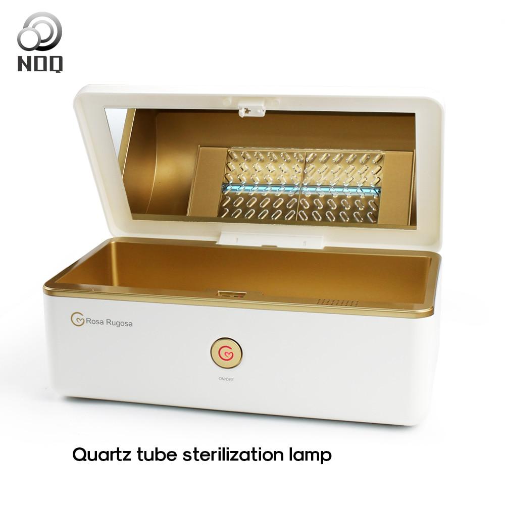 UV Sterilizer Box LED Disinfection Box Dry Manicure Nail Sterilizer UV Manicure Beauty Salon Equipment Sterilizing Nail Tools