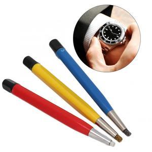Image 2 - 3 pièces/ensemble pièces de montre accessoires antirouille enlèvement stylo brosse pièces de montre outil de polissage montre rayures enlèvement stylo pour horloger