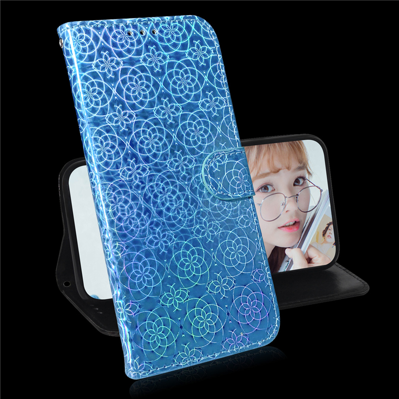 Gradient Colorful PU Leather Case for iPhone 11/11 Pro/11 Pro Max 53