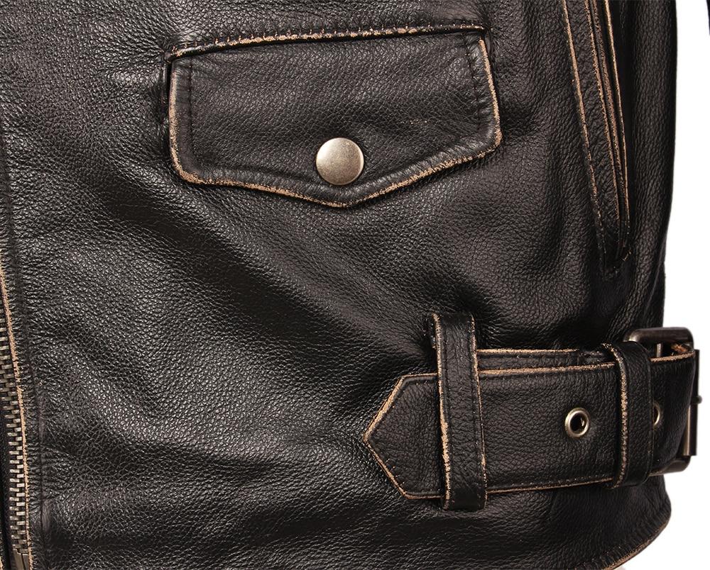 Hf789b707cde34358b369ff9d9627bc26Q Vintage Motorcycle Jacket Men Leather Jackets Thick 100% Cowhide Genuine Leather Coat Winter Biker Jacket Moto Clothing M456